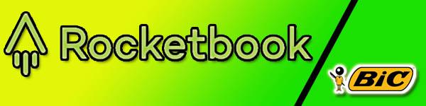 rocketbook et bic cahier réutilisable